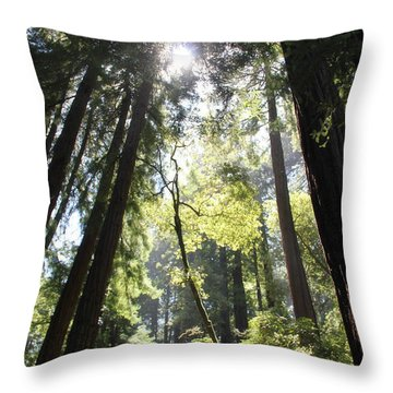 @redwoods Throw Pillow