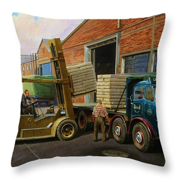 Reed Paper Foden Fg Throw Pillow by Mike  Jeffries
