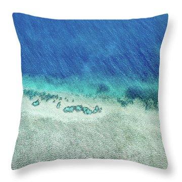 Reef Barrier Throw Pillow