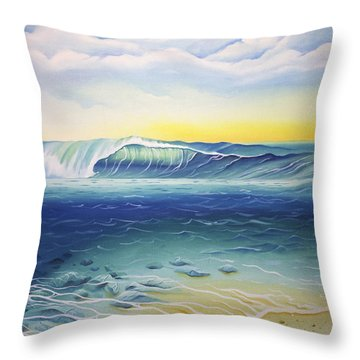 Reef Bowl Throw Pillow