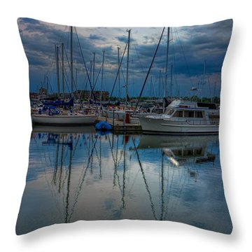 Reefpoint Marina Square Format Throw Pillow