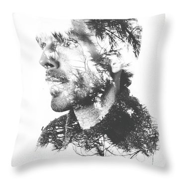 Reliefs Throw Pillows