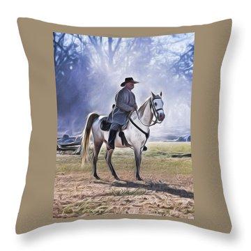 Reenactment General Throw Pillow