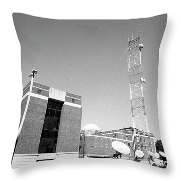 Reese Phifer Hall, Rear View, 2017 Throw Pillow