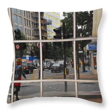 Refection Arsenal 02 Throw Pillow
