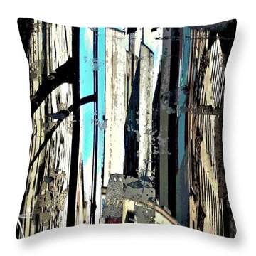 Reflected City 2 Throw Pillow by Sarah Loft