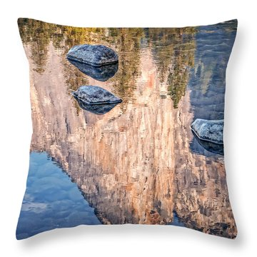 Reflected Majesty Throw Pillow