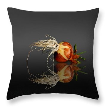 Reflected Onion No. 3 Throw Pillow