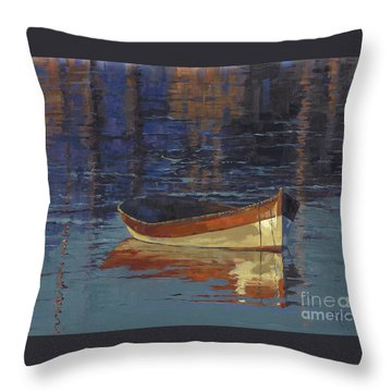 Sold Reflecting At Day's End Throw Pillow