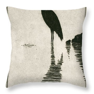 Reflecting Throw Pillow by Charles Harden