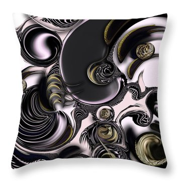 Reflecting Creation Throw Pillow