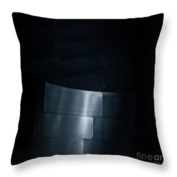 Reflecting On Gehry Throw Pillow