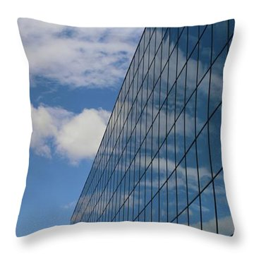 Reflecting On Today Throw Pillow