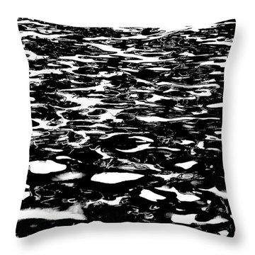 Reflecting Patterns Throw Pillow
