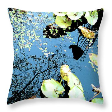 Reflecting Pond Throw Pillow