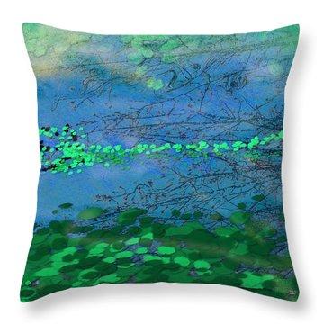 Reflecting Pond Throw Pillow