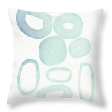 Reflecting Pools- Art By Linda Woods Throw Pillow