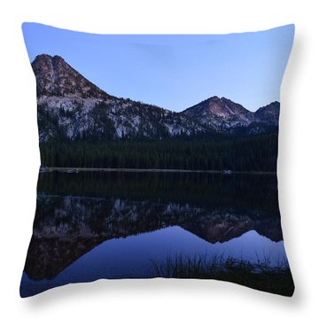 Reflection At Dusk Throw Pillow by Jeremy Tamsen