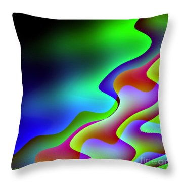 Throw Pillow featuring the digital art Reflection In The Water by Dragica  Micki Fortuna