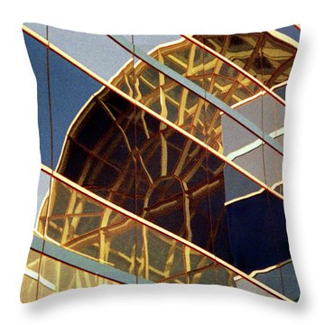 Throw Pillow featuring the photograph Reflection by John Schneider