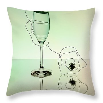 Black Tie Throw Pillows