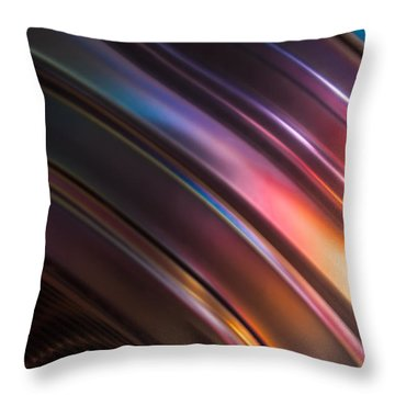 Reflection Of Socks Throw Pillow
