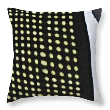 Throw Pillow featuring the photograph Reflection On 42nd Street 1 by Sarah Loft