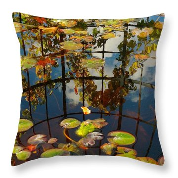 Reflection Pond Throw Pillow