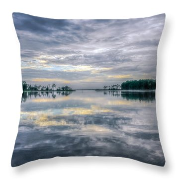 Throw Pillow featuring the photograph Reflection by Rob Sellers