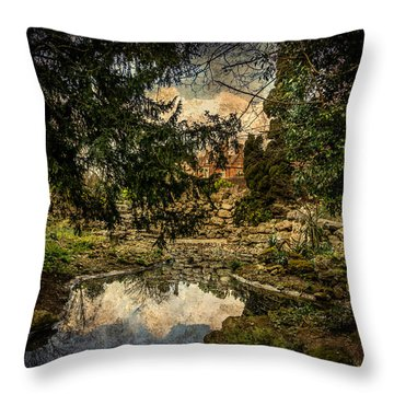 Throw Pillow featuring the photograph Reflection by Ryan Photography
