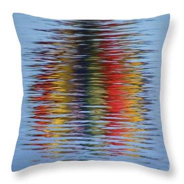 Reflection Throw Pillow by Steve Stuller