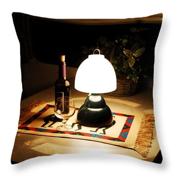 Reflection Time Throw Pillow