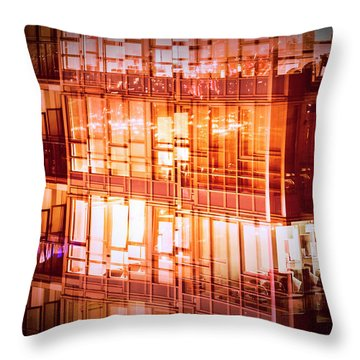 Reflectionary Phase Throw Pillow