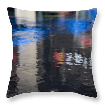 Throw Pillow featuring the photograph Reflections by Break The Silhouette