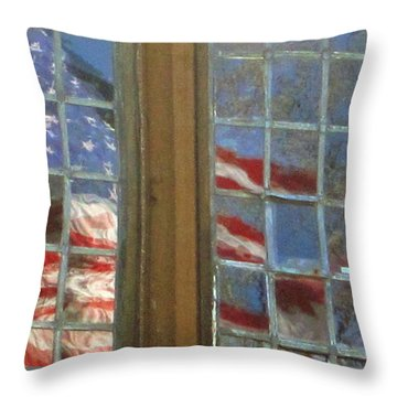 Reflections Throw Pillow by Chuck Berk