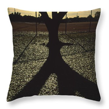 Reflections In A Park Throw Pillow