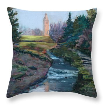 Reflections In History Throw Pillow