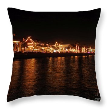 Reflections In The Bay Throw Pillow