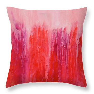 Reflections Throw Pillow by Irene Hurdle