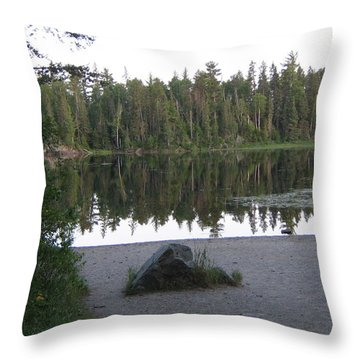 Reflections Lake 1 Throw Pillow