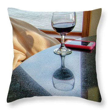 Reflections Lake Superior.... Throw Pillow