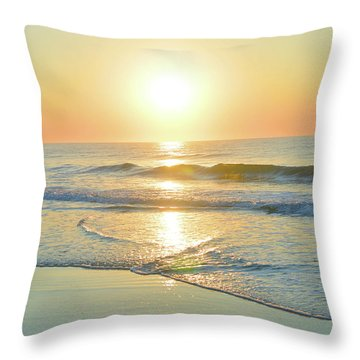 Reflections Meditation Art Throw Pillow