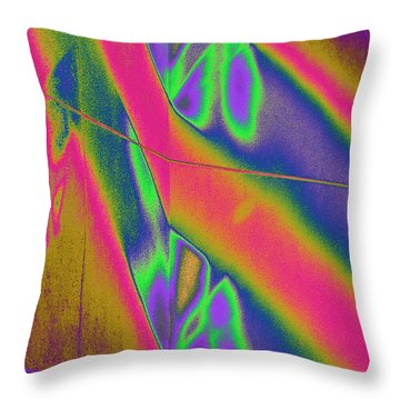 Reflections Of A Different Color Throw Pillow