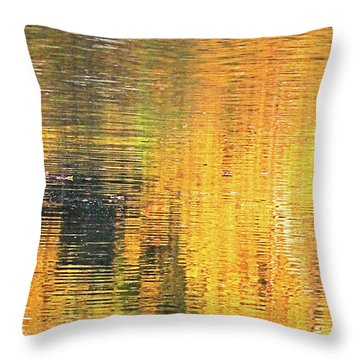 Reflections Of A Sunrise Throw Pillow