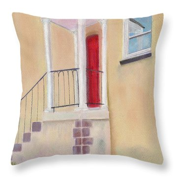 Reflections Of Baltimore Throw Pillow by Arlene Crafton