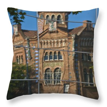 Reflections Of Barcelona #23 Throw Pillow