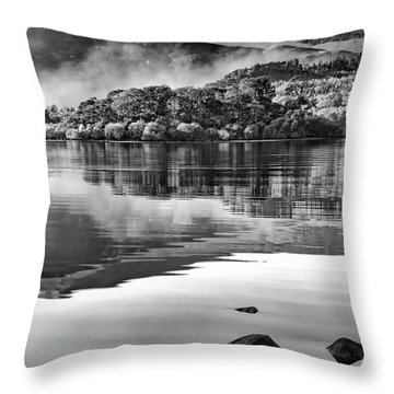 Reflections Of Derwent Throw Pillow