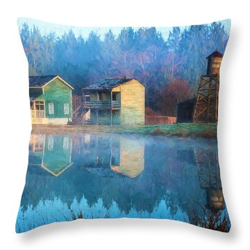 Reflections Of Hope - Hope Valley Art Throw Pillow