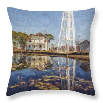 Reflections Of Light Throw Pillow