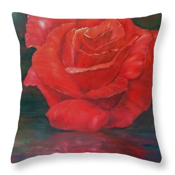 Reflections Of Love Throw Pillow